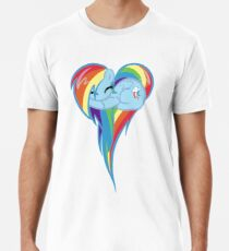 Heart Of Rainbow Dash Men's Premium T-Shirt
