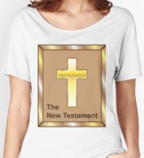 New Testament Golden Cross Women's Relaxed Fit T-Shirt
