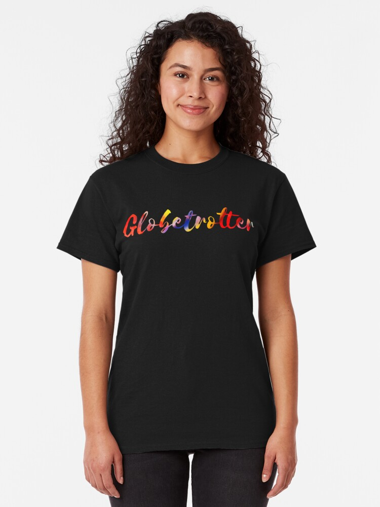 Alternate view of Globetrotter in Rainbow Classic T-Shirt