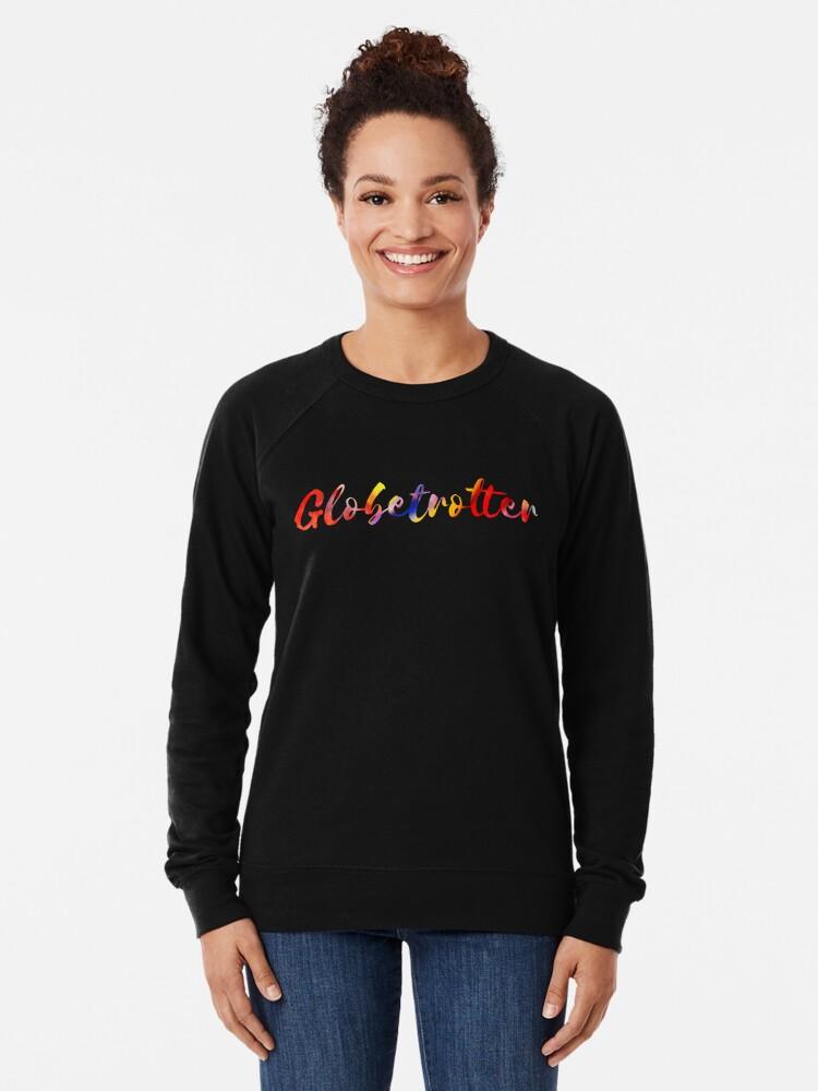 Alternate view of Globetrotter in Rainbow Lightweight Sweatshirt