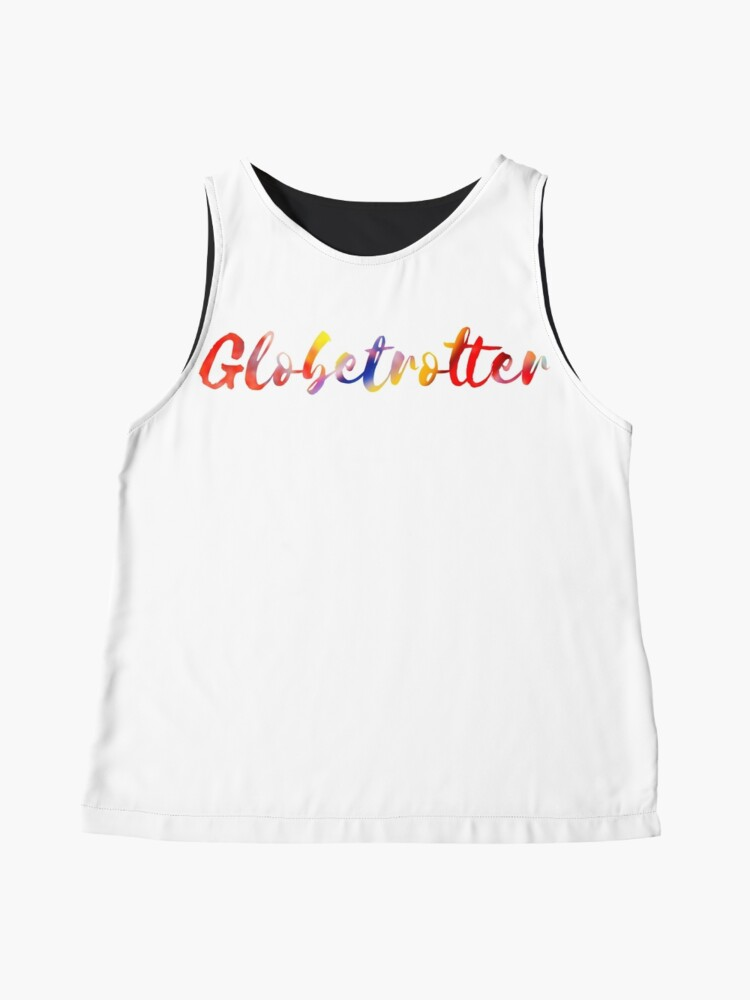Alternate view of Globetrotter in Rainbow Sleeveless Top