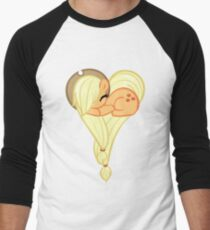 Heart Of AppleJack Men's Baseball ¾ T-Shirt