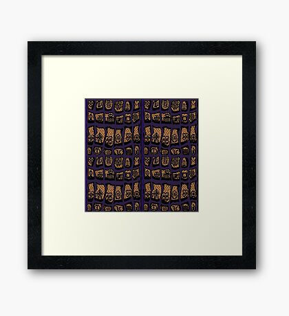 CLEMATIS COTY 2018 Framed Print