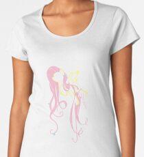 Flowery Flutter Women's Premium T-Shirt
