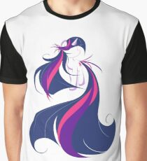 Feathering Twilight Graphic T-Shirt