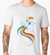 Flowing Rainbow Men's Premium T-Shirt