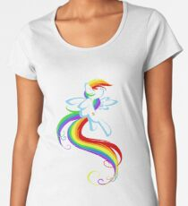 Flowing Rainbow Women's Premium T-Shirt