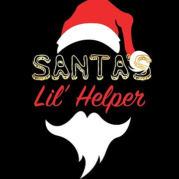 Santa's Little Helper Claus Face by zenspired