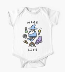 Mage Life Short Sleeve Baby One-Piece