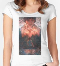 Stranger Things Will / Demogorgon Women's Fitted Scoop T-Shirt