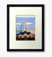NDVH Saltburn 1980s 1 Framed Print