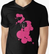 Bubbly Pink Men's V-Neck T-Shirt