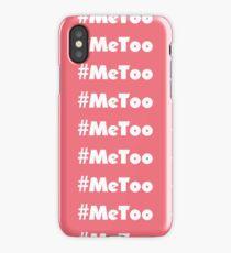Me Too iPhone Case/Skin