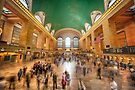Grand Central Rush by Raymond Warren