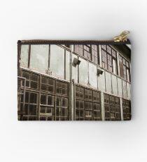 Industrial Building Windows Studio Pouch