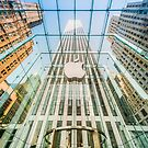 Big Apple in the Big Apple (square crop) by Ray Warren