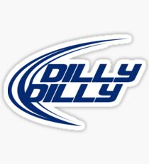DILLY DILLY Bud Light Beer Logo A True Friend Of The Crown Pit of Misery Sticker