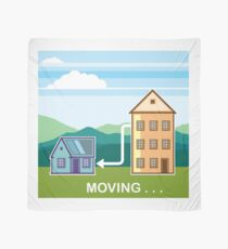 Moving from apartment into house Scarf