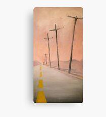 Highway 50  Canvas Print