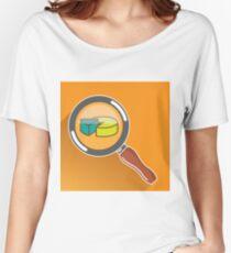 Pie Chart  Women's Relaxed Fit T-Shirt