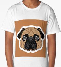 Pug Avatar Long T-Shirt