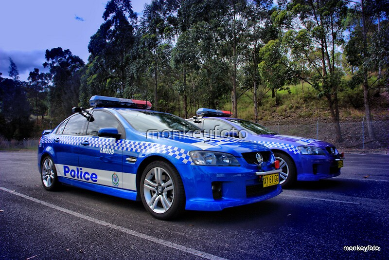 NSW Police Chase Cars by monkeyfoto