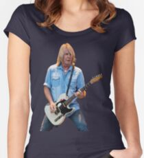 Rick Parfitt Women's Fitted Scoop T-Shirt