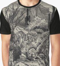 Desert Coyotes Graphic T-Shirt