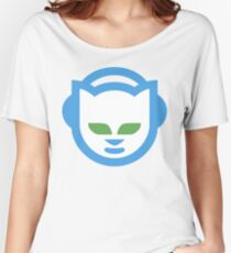 Napster Logo T-Shirt Women's Relaxed Fit T-Shirt