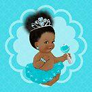 Shimmer & Shine: Blue Belle by WestAfricanMom