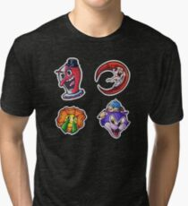 :Cuphead:.  04 Tri-blend T-Shirt