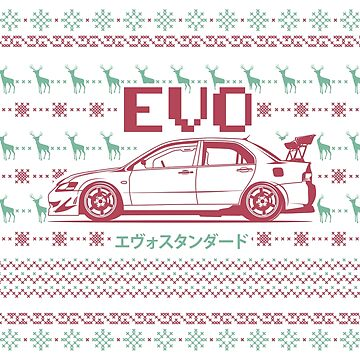 EVO-Chrismast!!! by melsmoon