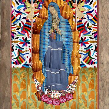 Tonantzin, Virgin of Guadalupe by luzmita14