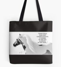Gypsy Proverb, for the Vanner Lover... Tote Bag