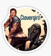 Jurassic World - Clevergirl  Sticker