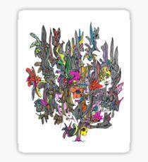 Cluster One by Bobiel Sticker