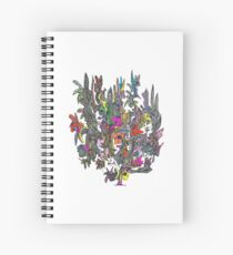 Cluster One by Bobiel Spiral Notebook