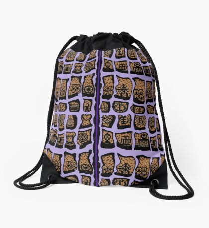 Iced Lavendar COTY 2018  Drawstring Bag