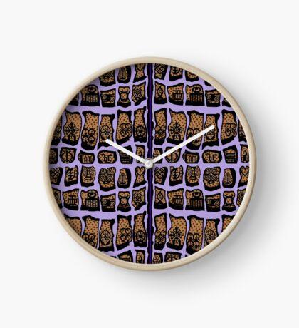 Iced Lavendar COTY 2018  Clock
