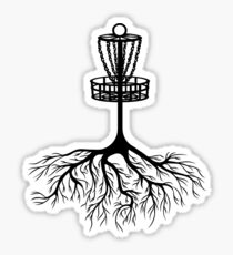 Disc Golf Sticker Redbubble