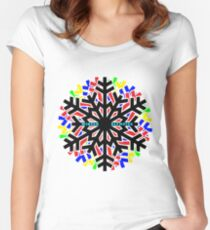 Winter Olympics  Women's Fitted Scoop T-Shirt