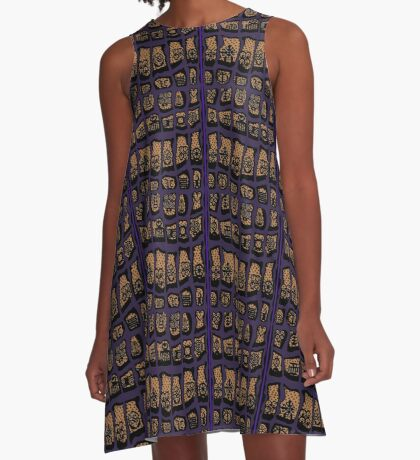 CLEMATIS COTY  A-Line Dress
