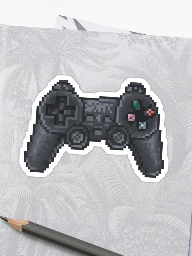 pixel ps2 controller | Sticker