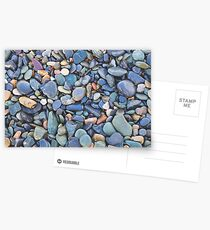 Wet Beach Stones Postcards