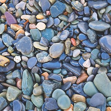 Wet Beach Stones by IAmPaul