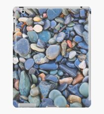 Wet Beach Stones iPad Case/Skin