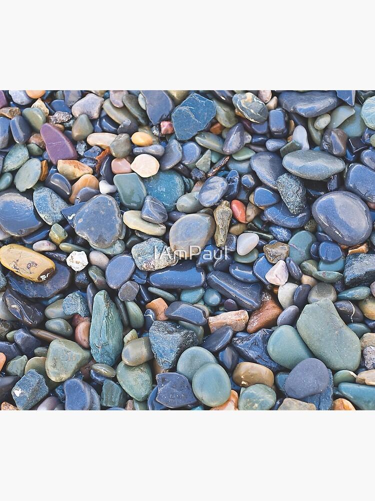Wet Beach Stones by IAmPaul