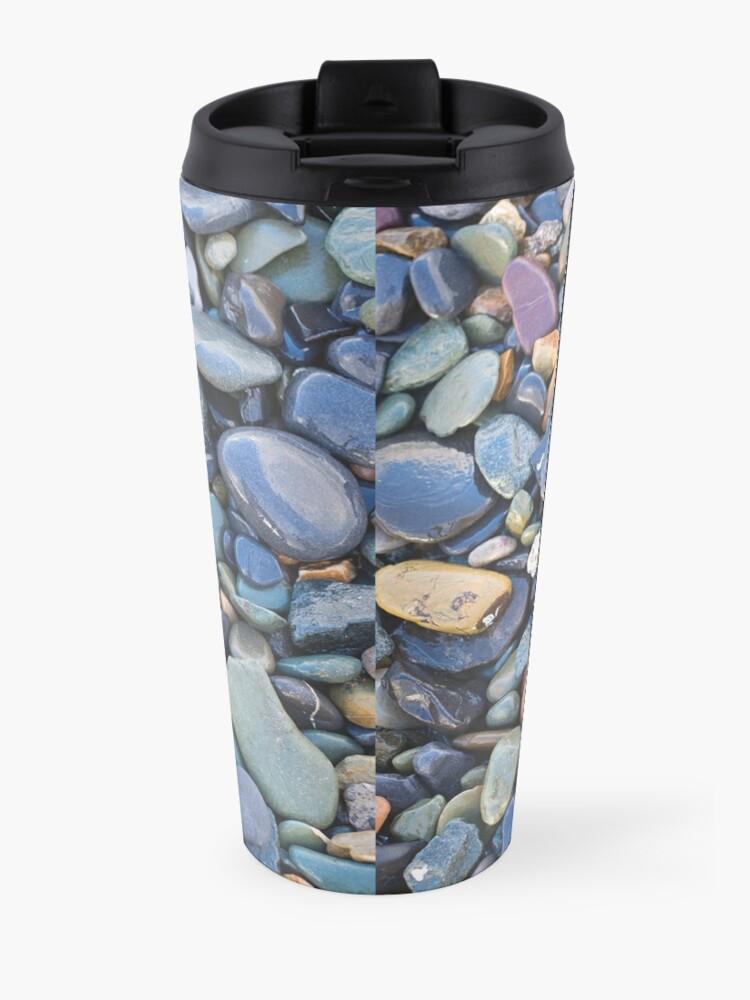 Alternate view of Wet Beach Stones Travel Mug