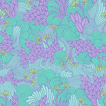 Floral pattern by RikkiB