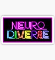 Pegatina Neurodiverso